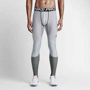 Nike Mens Pro Hyperwarm Lines Compression Tights